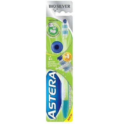 Astera Bio Silver Medium Четка за зъби