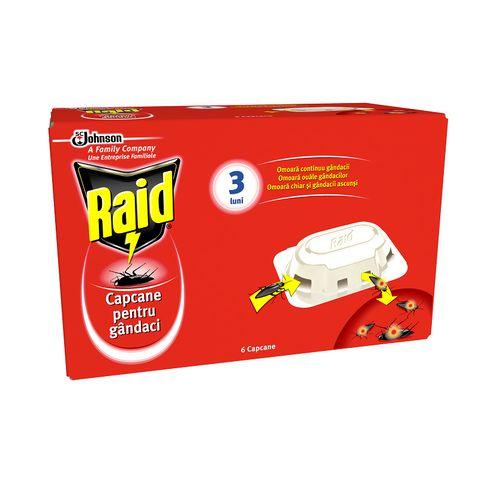 Raid Примамка за хлебарки x6 броя
