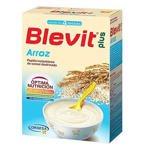 Blevit plus Каша ориз с бифидус ефект за деца от 4 месечна възраст x300 грама