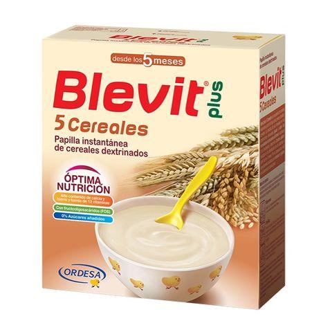 Blevit plus Каша 5 житни растения с бифидус ефект за деца от 5 месечна възраст x300 грама