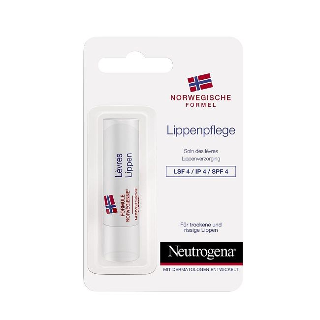 Neutrogena Балсам за сухи и напукани устни х4,8 грама