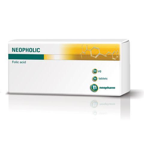 Неофолик 0.4 мг х90 таблетки - Neopharm