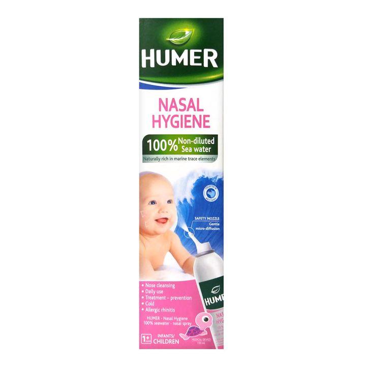 Humer Спрей за нос с морска вода за бебета и деца x150 мл