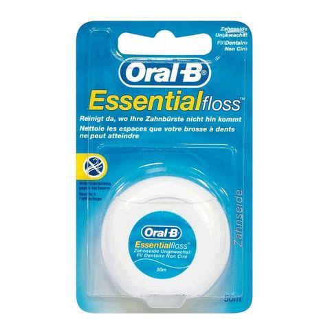 Oral B Essential Floss Конец за почистване на зъби без восък