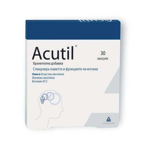 Акутил за памет и концентрация х30 капсули