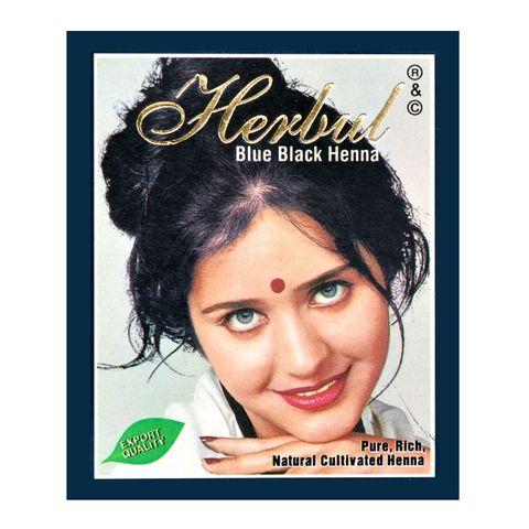Herbul Индийска къна за коса, цвят Синьо-черна х1 брой