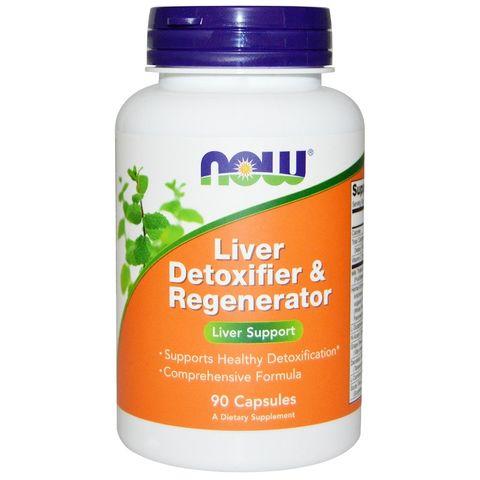 Now Foods Liver Detoxifier Regenerator за пречистване на черния дроб х90 капсули