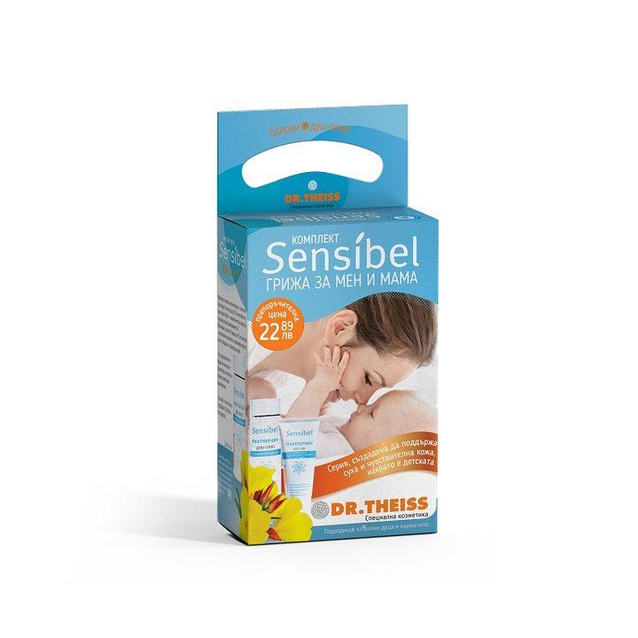Dr. Theiss Sensibel Nachtkerzen Промо комплект Грижа за мен и мама