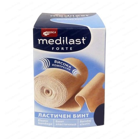 Medica Medilast Forte Ластичен бинт 10 см/ 5м х1 брой