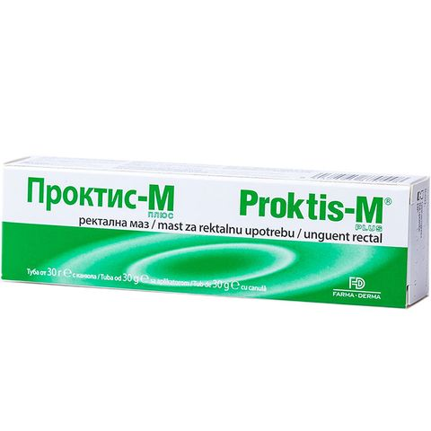 Naturpharma Проктис-М ректална маз х30 грама