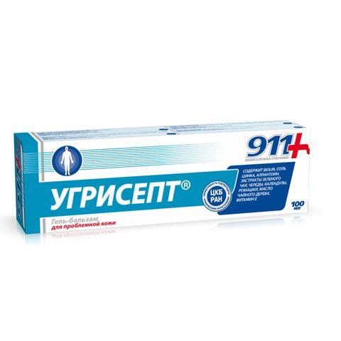 911 Угрисепт Гел-балсам за лице при акне х100 мл