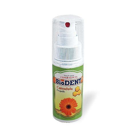 BioDent Спрей за уста с прополис и невен при възпаление на гърлото и венците х50 мл