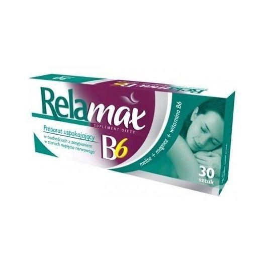Реламакс B6 при безсъние и стрес х30 таблетки