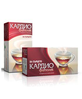 Фитолек Кардио Билков чай за сърцето х20 пакетчета