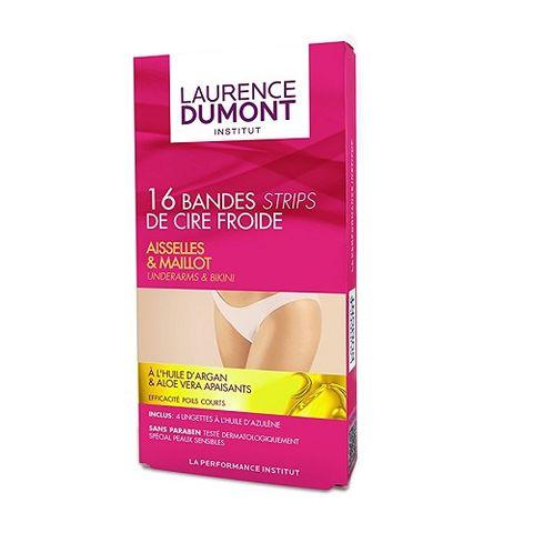 Laurence Dumont Institut Депилиращи ленти за подмишници и бикини зона х16 броя