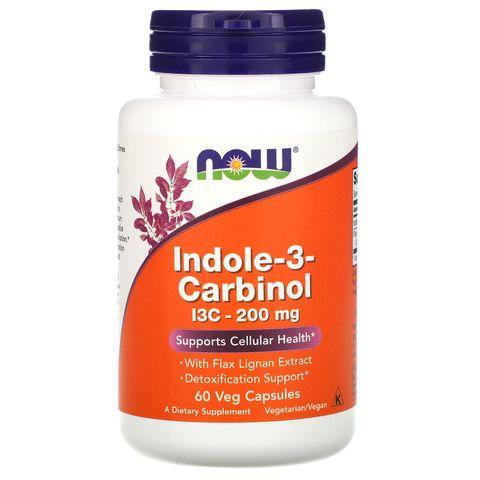 Now Foods Индол-3-Карбинол 200 мг х60 капсули