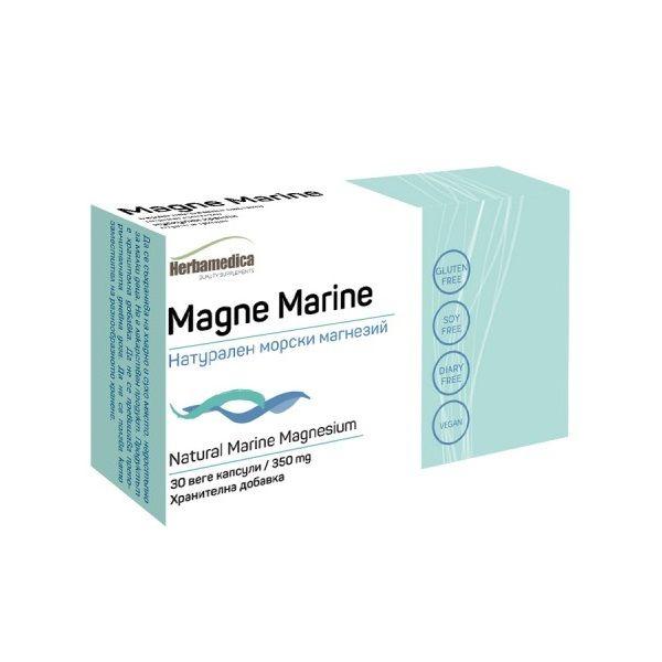 Магне Марин Натурален морски магнезий 350мг х30 капсули Herba Medica