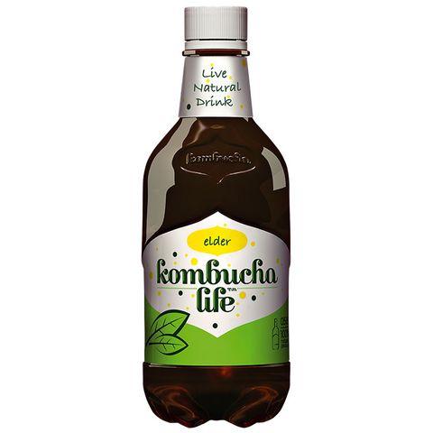 Kombucha Life Естествено газиран чай с бъз х500 мл