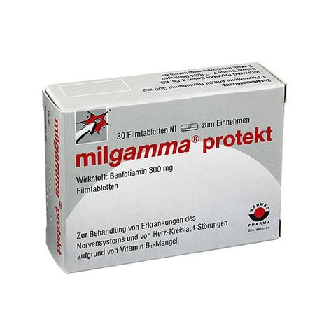 Милгамма Протект 300 мг х30 таблетки