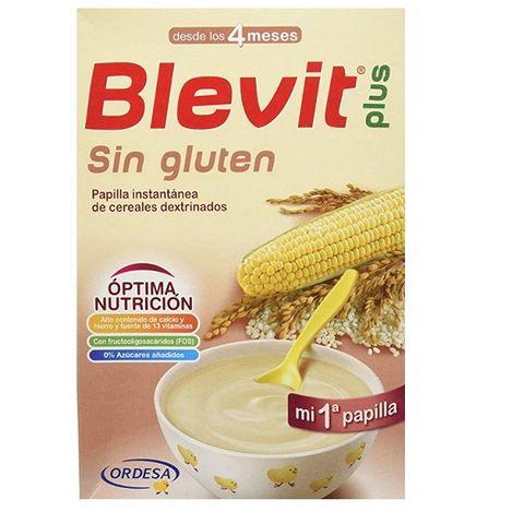 Blevit Plus Моята първа каша, без глутен с бифидус ефект за деца от 4 месечна възраст х300гр