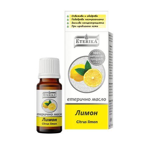 Eterika Етерично масло лимон х10 мл