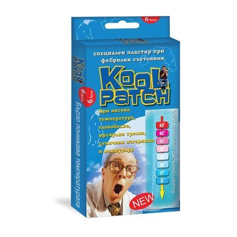 Kool Patch Лепенка с гел за намаляване на телесната температура, за деца х6 броя Abopharma