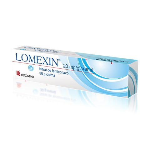 Ломексин крем при гъбички инфекции по кожата 2% х30 грама