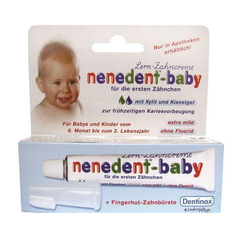 Nenedent-Baby Комплект за приучаване към грижа за зъбките за деца над 6 месеца
