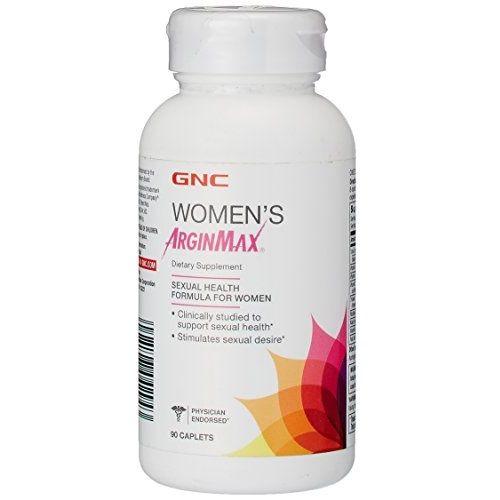 GNC Women's Arginmax Аргинмакс за жени Формула за сексуално здраве х90 каплети