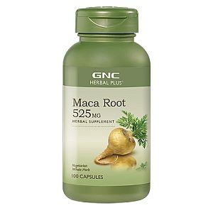 GNC Maca Root Мака Корен натурален афродизиак 525мг х100 капсули
