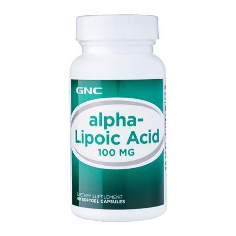 GNC Alpha Lipoic Acid Алфа Липоева Киселина 100 мг х60 капсули