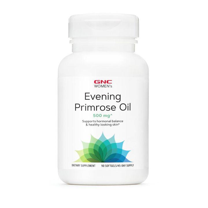 GNC Women's Evening PrimRose Oil Масло от вечерна иглика 500 мг х90 капсули