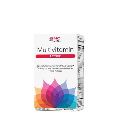 GNC Women's Ultra Mega Active Мултивитамини за жени х90 каплети с удължено освобождаване