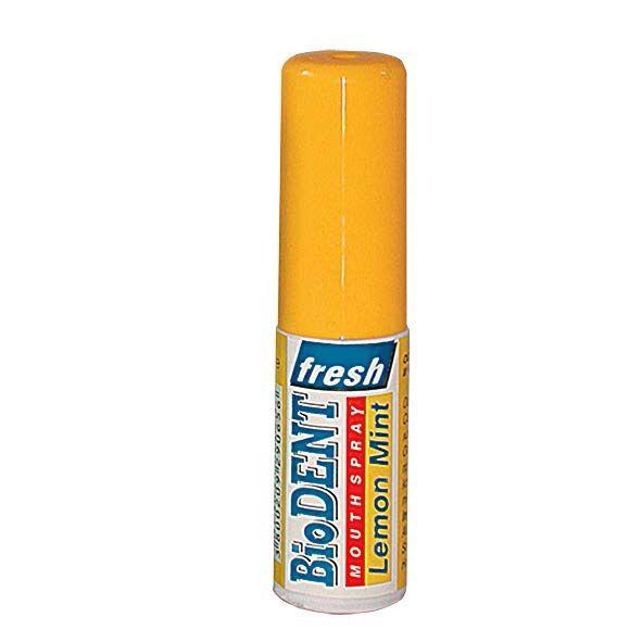 BioDent Lemon Mint Освежител за уста с лимонов и ментов вкус х15 мл