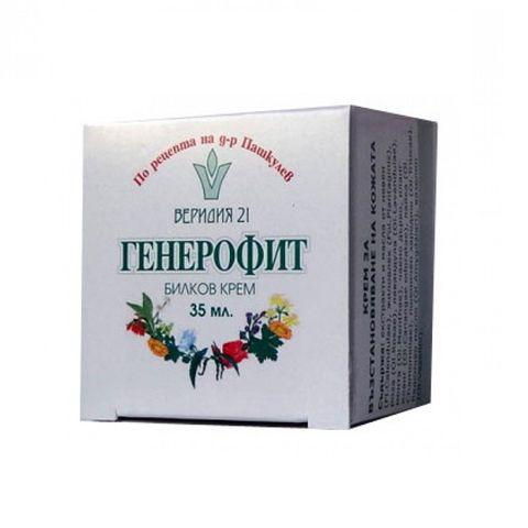 Веридия 21 Билков крем Генерофит за освежаване на кожата х40 мл