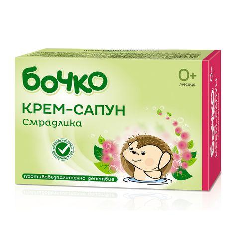 Бочко Бебешки крем-сапун със смрадлика х75 грама