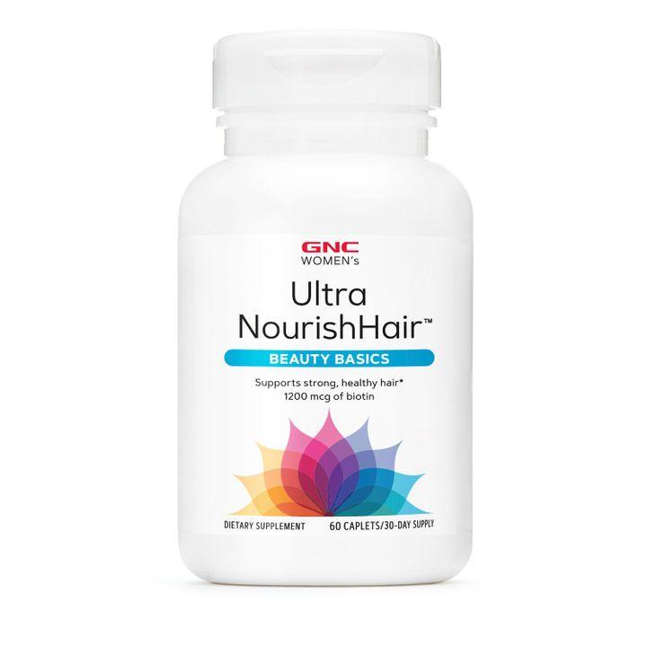 GNC Women's Ultra Nourish Hair Витамини за жени за подхранване на косата х60 каплети