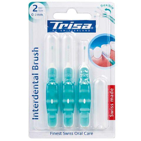 Trisa Interdent Flexible Комплект интердентални четки х2 мм