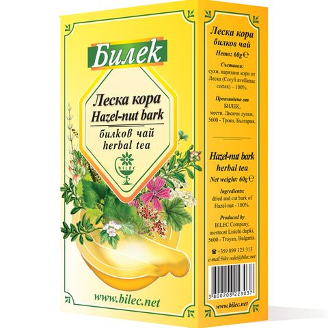 Билек Билков чай Леска кора х60 грама