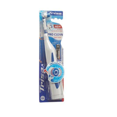 Trisa Pro Clean Battery Електрическа четка за зъби