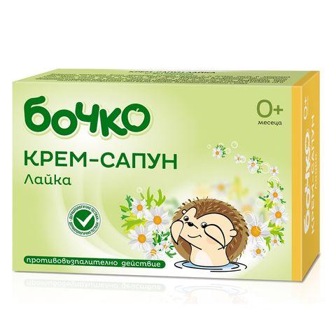 Бочко Бебешки крем-сапун с лайка х75 грама