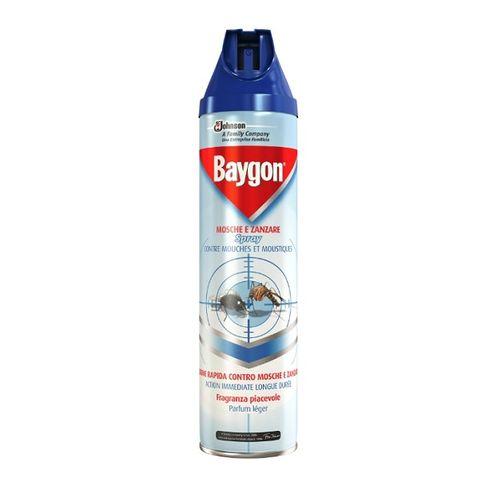 Baygon Аерозол срещу комари и мухи x400 мл