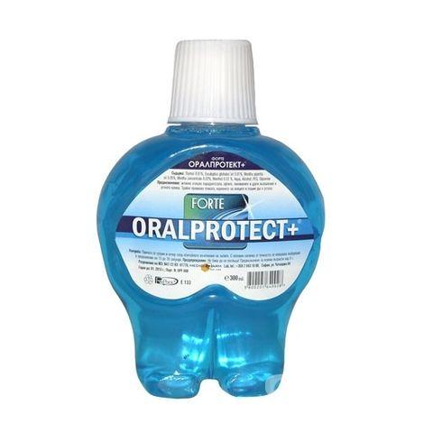Oral Protect + Forte Антиплакова вода за уста х300 мл