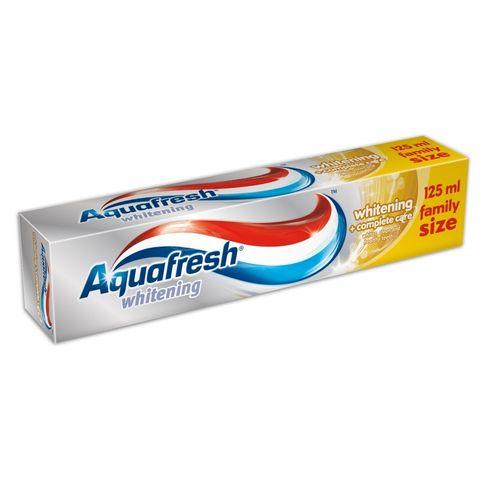 AquaFresh Whitening + Complete Care Избелваща паста за зъби за цялостна защита х125 мл