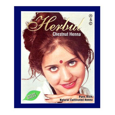 Herbul Индийска къна за коса, цвят Кестен х1 брой
