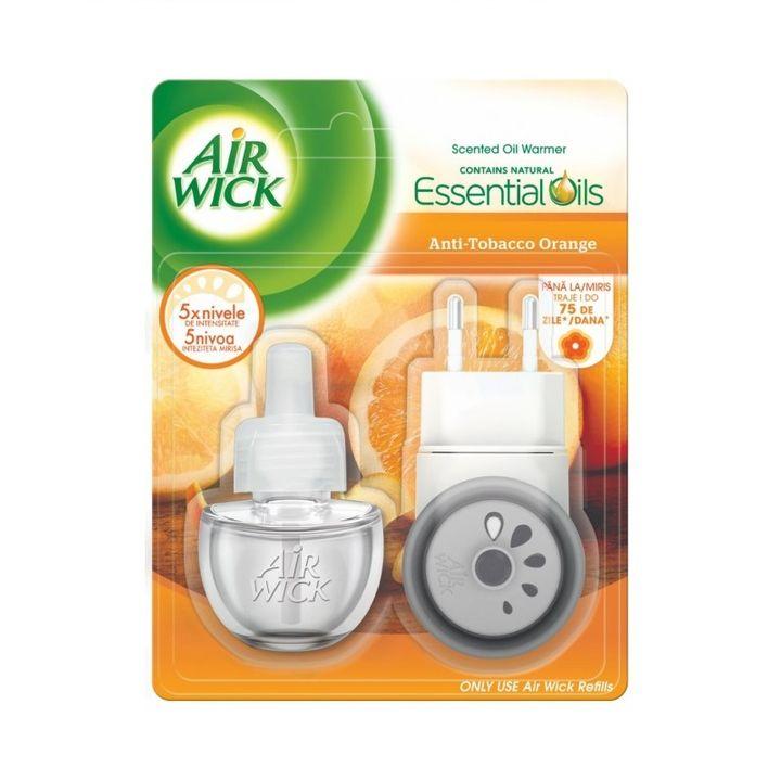 Air Wick Electrical Plug-In Anti-Tobacco Orange Електрически ароматизатор