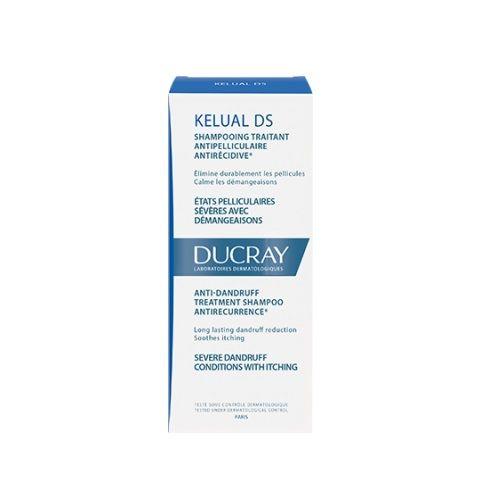 Ducray Kelual DS Третиращ противопърхотен антирецидивен шампоан за коса х100 мл