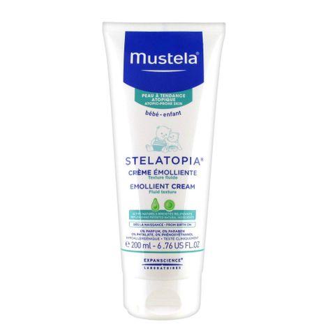 Mustela Stelatopia Емолиентен крем за бебета и деца за атопична кожа x200мл