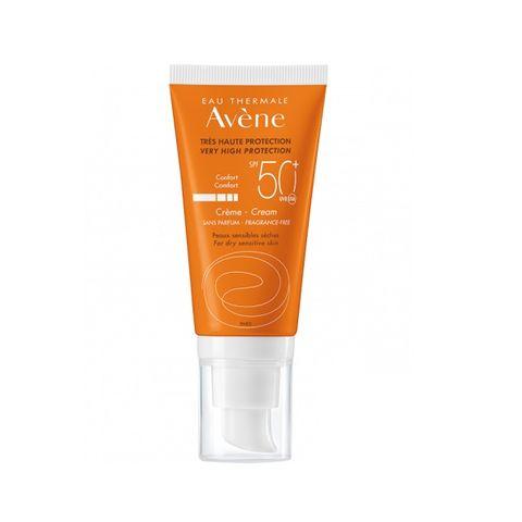 Avene Слънцезащитен крем за лице SPF 50+ x50 мл