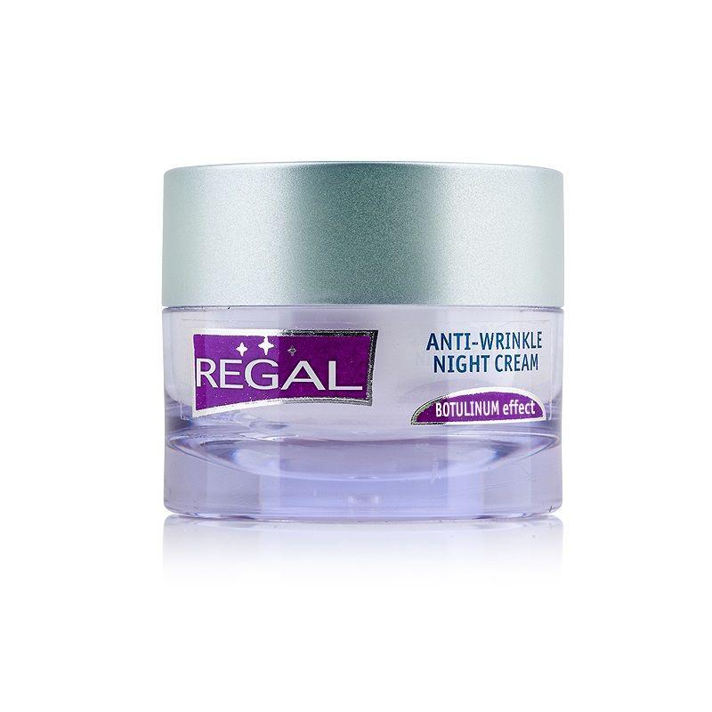 Regal Нощен крем за лице против бръчки с ботокс ефект х45 мл